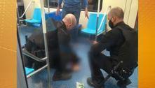 Mulher é agredida por passageiro dentro de vagão do Metrô em SP
