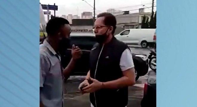 Motorista não reagiu e, em seguida, a Polícia Militar foi acionada