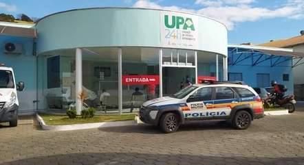 Criança foi levada para UPA com lesões