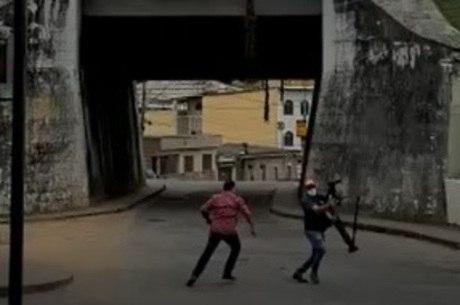 Caso aconteceu em uma rua de Barbacena (MG)
