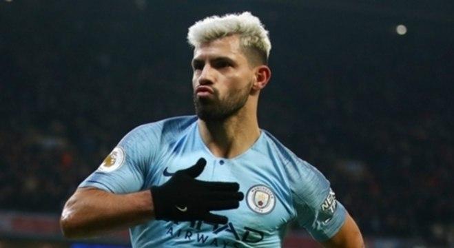 Sergio Aguero, do Manchester City