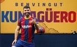 Argentina - Sergio Agüero* (Barcelona): Temporada 2020/21: 20 jogos e 6 gols*O jogador atuou na última temporada pelo Manchester City, antes de se transferir para o Barcelona