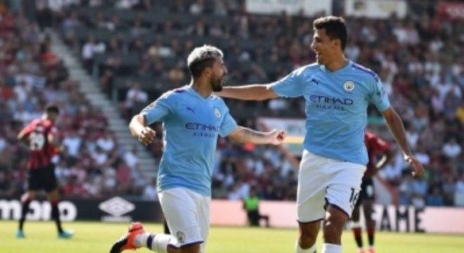 Agüero e Rodri - Manchester City