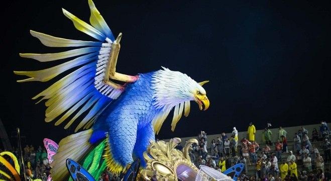 Águia de Ouro conquistou o título de campeã do Grupo Especial pela primeira vez