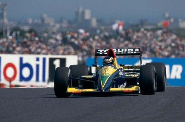 Aguri Suzuki foi o primeiro japonês a subir no pódio, e fez em casa, no GP do Japão de 1990. Competiu entre 1988 e 1995