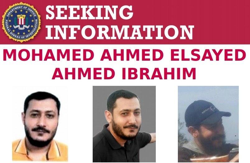 FBI divulgou em suas redes sociais o perfil de Mohamed de procurado