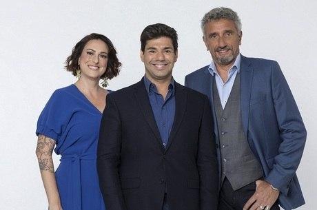 "Ailin Aleixo, Felipe Bronze e  Emmanuel Baisoleil do ""Top Chef"""