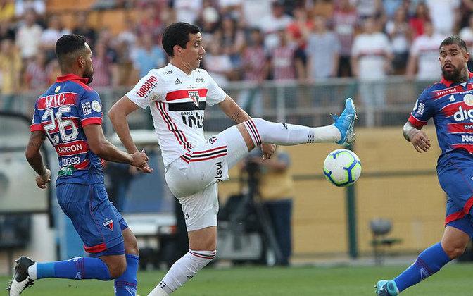 Ainda em 2019, viveu sua primeira seca no Tricolor, ficando sete jogos sem marcar, desde 5 de outubro de 2019, contra o Fortaleza, até o final do ano. Encerrou a seca no primeiro jogo oficial de 2020.