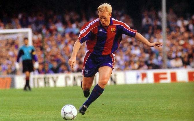 Ainda falando de gols e de Champions, ele foi o artilheiro da edição de 1993/94, com oito tentos em 12 partidas, quando o Barcelona acabou com o vice, atrás do Milan. Ele só foi ser recentemente ultrapassado como jogador com maior número de gols de falta pelo clube catalão (25), por ninguém mais, ninguém menos que Lionel Messi.