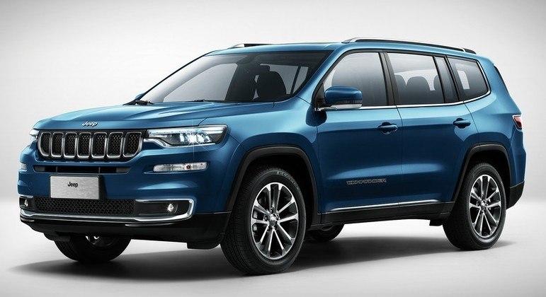 Ainda na categoria SUV, destaca-se o jeep de7 lugares, uma novidade. O preço pode passar dos R$ 200 mil, com muitos acessórios, mas a média está na casa dos R$ 170 mil.