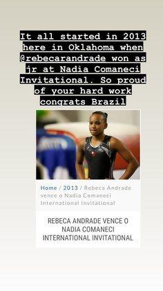 Ainda no clima de comemoração da ginástica artística brasileira, uma das maiores ginastas da história, a romena Nadia Comăneci parabenizou Rebeca e o time brasileiro em suas redes sociais.