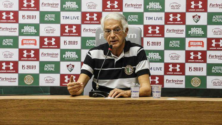 Ainda sobre o encontro de Landim com Bolsonaro, Celso Barros, VP de futebol do Fluminense, foi duro na opinião: