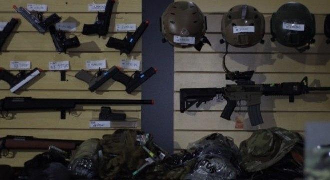 Sofisticadas, armas custam, em média, entre R$ 1 mil e R$ 5 mil