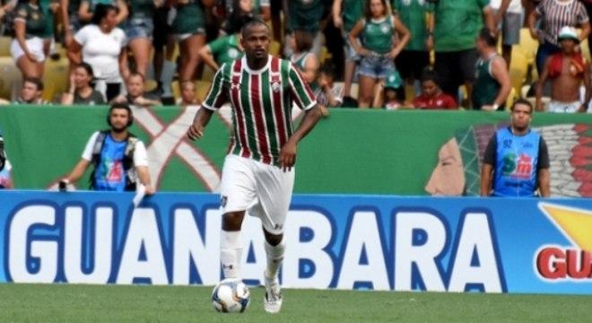 Airton - em campo no jogo entre Fluminense x Volta Redonda - 19/1/2019