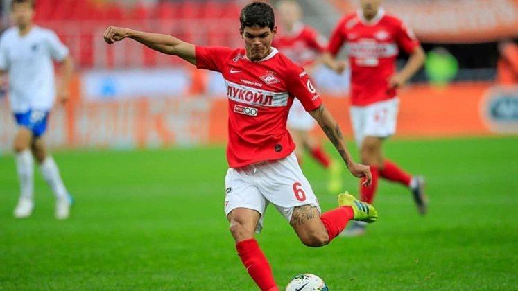 Airton Lucas - Lateral-esquerdo - Spartak Moscou - 23 anos