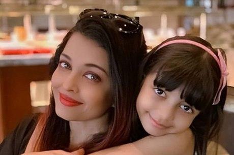Aishwarya Rai Bachchan e a filha, Aaradhya