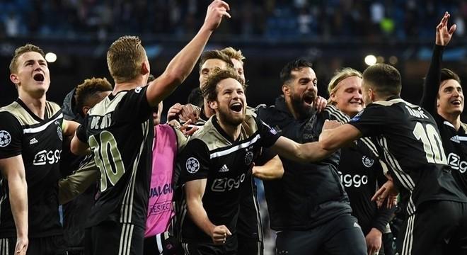 A classificação do Ajax em Madrid