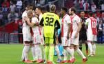 Ajax 2x0 BesiktasEm jogo com bastante dominância do time da casa, o Ajax recebeu o Besiktas na Johan Cruijff Arena nesta terça-feira (28) e bateu os turcos pelo placar de 2 a 0