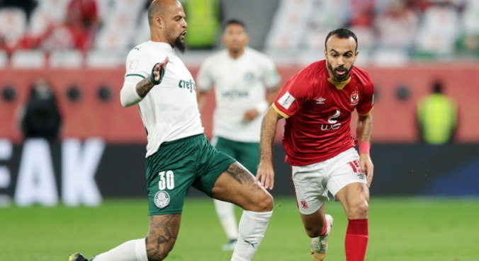 Felipe Melo foi uma das mudanças de Abel Ferreira contra o Al Ahly