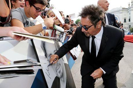 Al Pacino atende fãs no festival em 2014