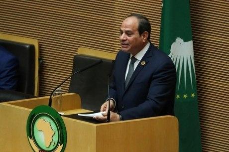 Abdel Fattah al-Sisi assumiu a presidência da UA