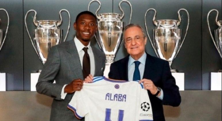 Alaba no Real Madrid