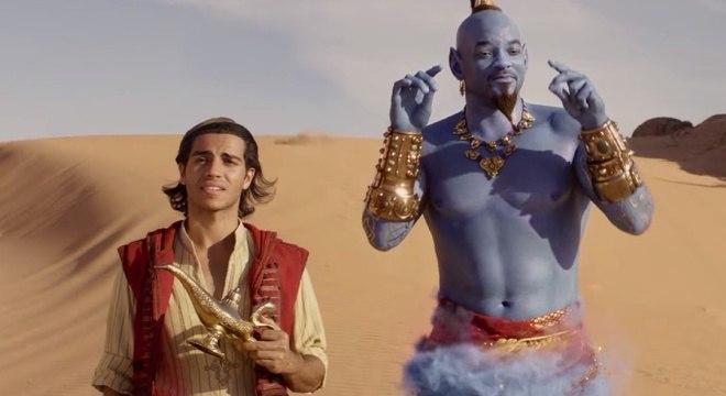 Aladdin e o Gênio estão de volta aos cinemas