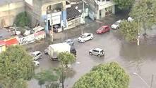 Chuva derruba árvores e alaga ruas na capital e na Grande São Paulo