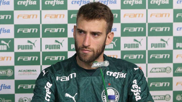 Alan Empereur, recém-chegado ao Palmeiras, estreou contra o Ceará, foi apresentado no dia seguinte e pegou o novo coronavírus uma semana após a chegada ao Brasil