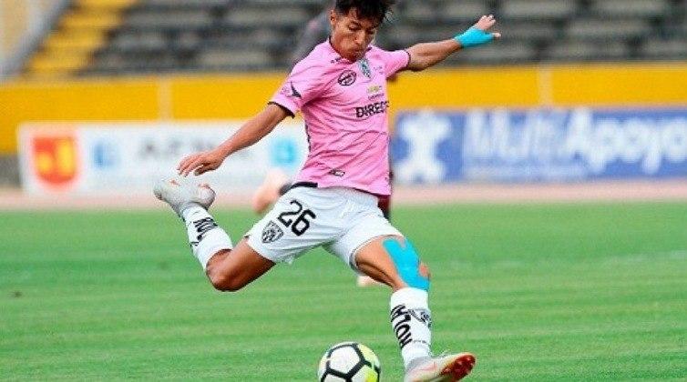 Alan Franco - Atlético Mineiro - 21 anos - meia - equatoriano
