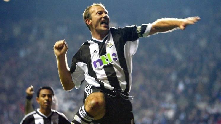 Alan Shearer: Escolha inaugural feita pela Premier League para entrar no Hall da Fama. Clubes na Premier League - Southampton, Blackburn Rovers e Newcastle United. Posição - Atacante