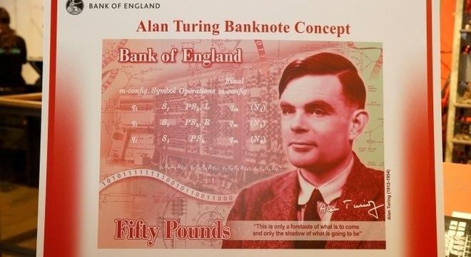 Rosto de cientista Alan Turing vai estampar nova nota de 50 libras no Reino Unido