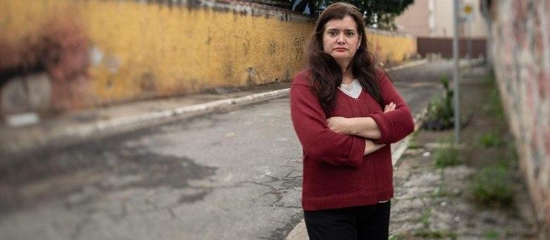 Alba Valéria de Araújo (50), professora de Filosofia readaptada na rede estadual (Cacalos Garrastazu/ eder content)