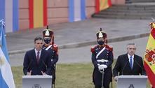 'Brasileiros vieram da selva', diz presidente da Argentina