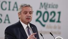 Presidente da Argentina apresenta quadro estável, diz boletim