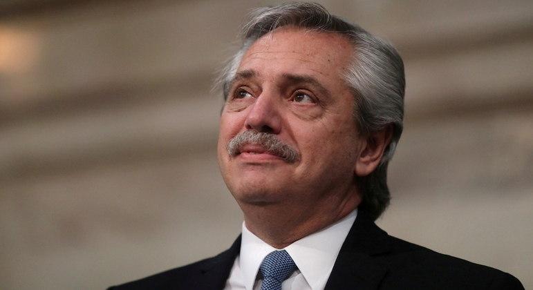 Alberto Fernández, presidente da Argentina, perdeu popularidade com aumento da pobreza