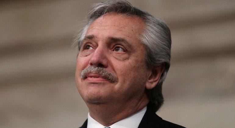 O presidente da Argentina, Alberto Fernández, recebeu a renúncia de cinco ministros