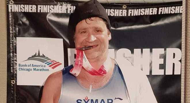Murray, adulto, um maratonista