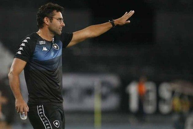 Alberto Valentim: Alberto Valentim já treinou o Palmeiras interinamente e também comandou Botafogo, Vasco e Avaí. Ele está desempregado desde fevereiro