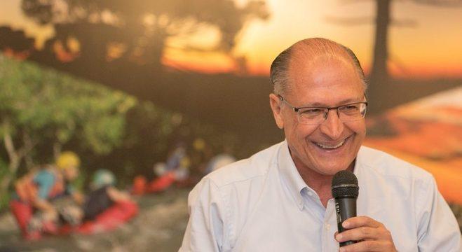 Alckmin evitou manifestar apoio à pré-candidatura de João Doria