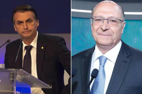 Alckmin tem 10% das intenções de voto