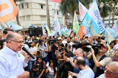 Alckmin recebe apoio de governadores do MDB