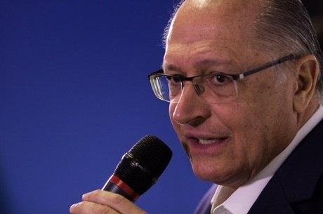 Alckmin não tem propostas sobre o tema