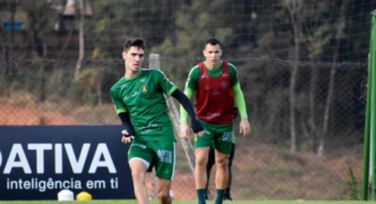 Alê ainda não se firmou no Coelho neste Brasileirão e busca retomar o protagonismo