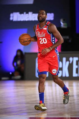Alec Burks (Philadelphia 76ers) 6,5 - Vindo do banco, Burks contribuiu com 18 pontos e seis rebotes, mas acertou somente seis das 15 tentativas de arremessos