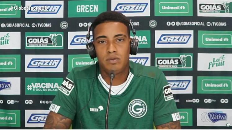 Alef Manga - Goiás - Atacante - 26 anos