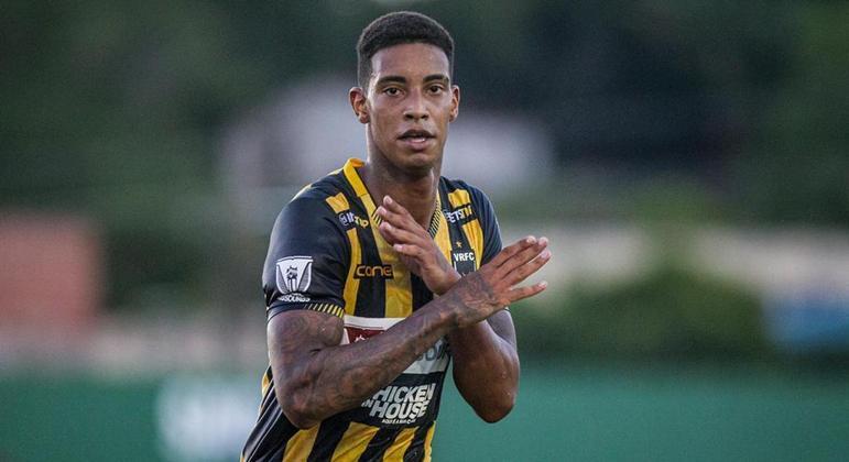 Alef Manga é um dos destaques do Volta Redonda e do Campeonato Carioca 2021
