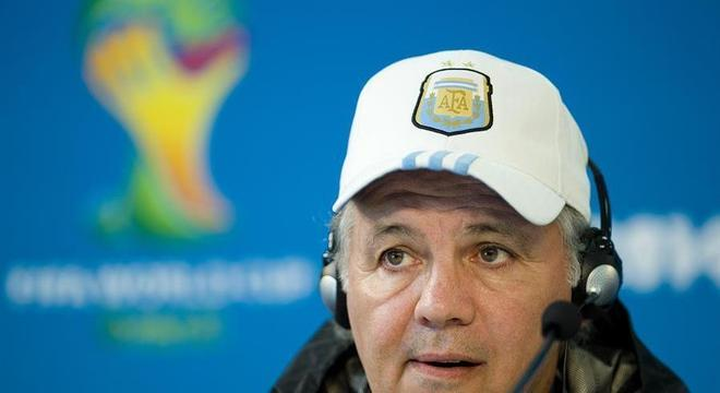 Alejandro Sabella comandou Argentina vice-campeã mundial na Copa 2014