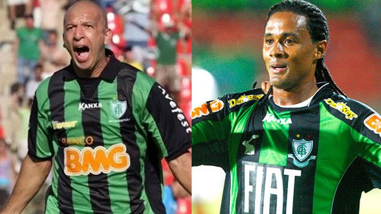 Além dos dois grandes de Minas, tanto o Banco Caixa quanto o Banco BMG e Fiat já foram patrocinadores master do América-MG, rival de Cruzeiro e Atlético-MG no estado.
