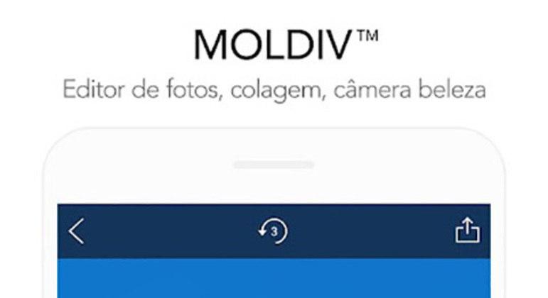 Além dos efeitos, filtros e colagens, o Moldiv tem opções de câmera profissional, aperfeiçoamento de selfie e montagem de fotos como se fosse uma revista. O aplicativo já foi baixado mais de 5 milhões de vezes na Play Store.